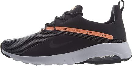 Nike Air Max Motion Racer 2 Black Grey, Black/Anthracite-Orange Pulse, Size 7.5