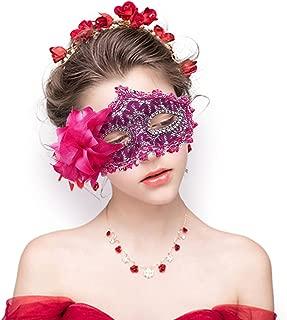 Masquerade Mask Mardi Gras Mask for Women Handmade Venetian Party Prom Ball