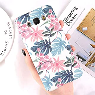 ZXSJK Case For Samsung Galaxy A8 A6 A7 A5 A3 J7 J5 J3 J2 Prime Flower Phone Cover Cases For Samsung Note 9 8 S9 S8 Plus S7...