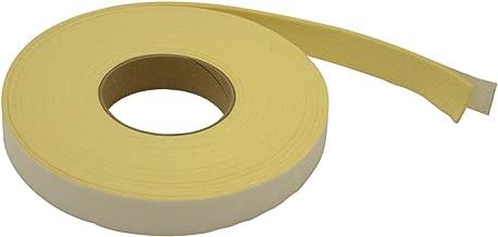 JVCC FELT-K1 Kevlar Felt Tape: 1 in. x 25 ft. (Light Yellow)