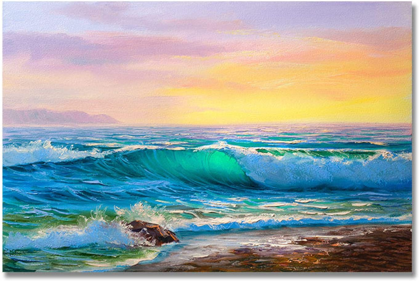 security Scenery All items free shipping Picture Beach Seascape Wall Art Paintin Posters Abstract