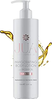 JUA Essentials Premium Natural Hydrating Body Lotion - With Shea Butter & Baobab, Jojoba, Argan Oil. Formulated to Nourish & Hydrate Skin. For Women By Hill Harper (1 Bottle)