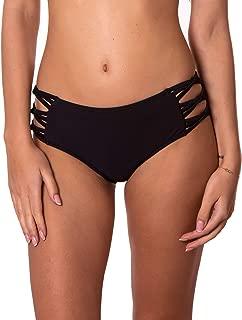 RELLECIGA Women's Strappy Bikini Bottom