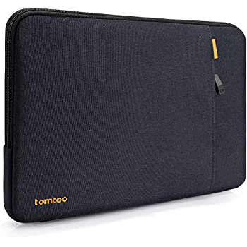 tomtoc 360 Protective Laptop Sleeve Case for 13-inch MacBook Air A2179 A1932, MacBook Pro w/USB-C A2251 A2289 A2159 A1989 A1706 A1708, 12.9 iPad Pro 3rd/4th Gen, Laptop Bag with Accessory Pocket