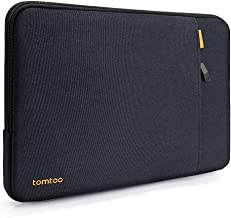 tomtoc 360 Protective Laptop Sleeve for 13-inch MacBook Air 2018-2021 M1/A2337 A2179 A1932, MacBook Pro M1/A2338 A2251 A22...