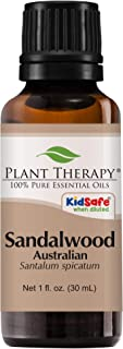 Plant Therapy Sandalwood Australian Essential Oil 100% Pure, Undiluted, Natural Aromatherapy, Therapeutic Grade 30 mL (1 oz)
