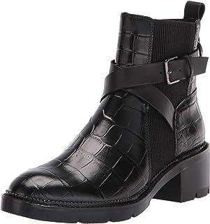 Donald J Pliner Women's Fashion Boot, Black, 5