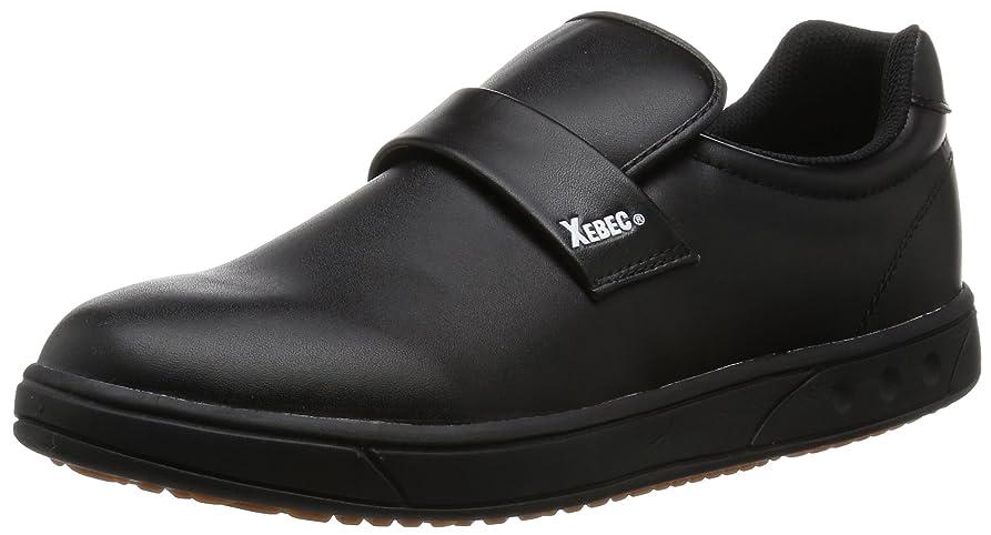 残る反映するできない安全靴 85663 衝撃吸収 厨房シューズ ブラック 29.0 cm