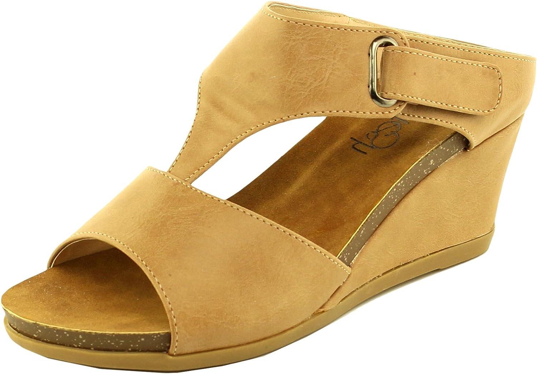 Refresh Footwear Women's Slip On Slide Wedge Sandal