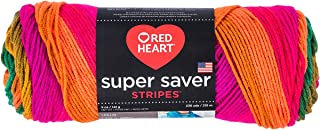 "Coats Yarn"" Red Heart Super Saver Yarn, Multi-Colour, 22.86 x 7.62 x 7.62 cm"