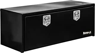 Buyers Products Black Steel Underbody Truck Box w/ T-Handle Latch (24x24x60 Inch)