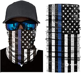 Skull Face Sun Mask, Neck Gaiter, Headwear, Headband for Fishing, Hunting,Yard Work
