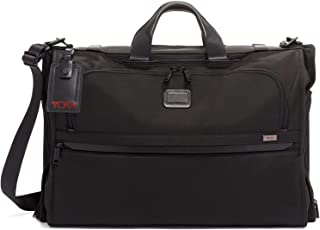 TUMI - Alpha 3 Garment Bag Tri-fold Carry-On Luggage - Dress or Suit Bag for Men and Women - Black