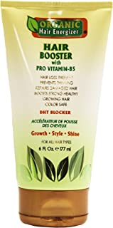 Organic Hair Growth Booster - Pro Vitamin-B5, DHT-Blocker, Sulfate-Free & Paraben-Free - for Thinning & Receding Hair - Color Safe for Men, Women & Teens, 2 fl oz
