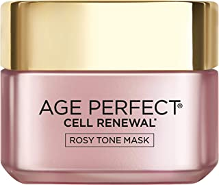 L'oréal Paris Skincare Age Perfect Rosy Tone Face Mask With Aha & imperial peony for Rosy, Radiant Skin, 1.7 Oz