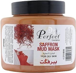 Perfect Cosmetics Saffron Mud Mask - 500 ml