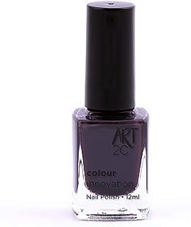Art 2C - Esmalte de uñas de tonos innovadores, 96 colores, 12ml, color: Midnight madness (356)