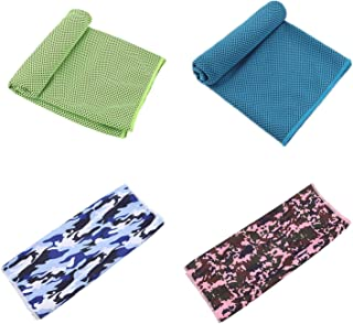 Cooling Ice Towel Chilly Soft Breathable Microfiber Instant Chill Cloth Neck Cooler Wrap Sport Yoga Gym Running Camping Hi...