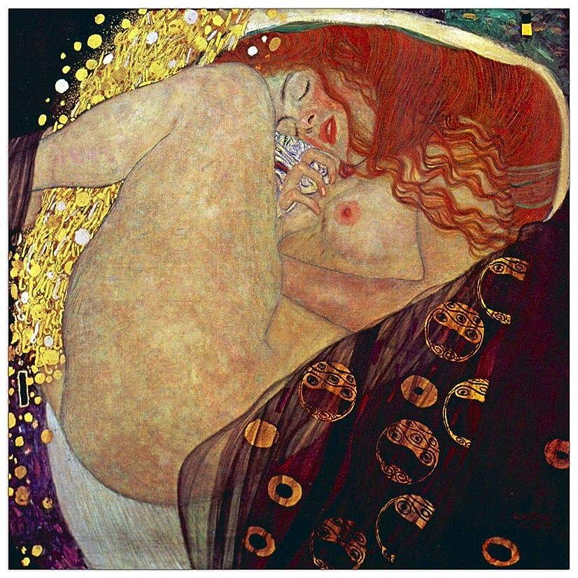 ArtPlaza TW90267 Klimt Gustav - Danae Decorative Panel, 23.5x23.5 Inch, Multicolored