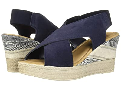 Bella-Vita Bec-Italy (Navy Italian Suede Leather) Women