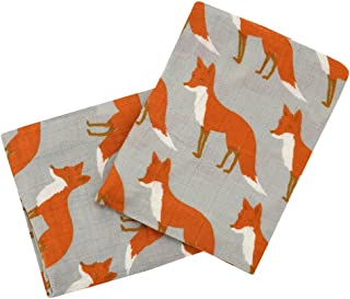 Milkbarn Organic Cotton Burp Cloths (2 pack)