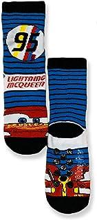 Disney, Calcetines antideslizantes Cars Rayo McQueen para niño de algodón 3307