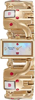 Raga Masaba Analog Mother of Pearl Dial Wanderer Elephant Women's Watch