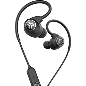 JLab Audio Epic Sport Wireless Earbuds | Active Lifestyle 12 Hour Battery Life | Bluetooth 4.2 | IP66 Sweatproof | Built in Micr