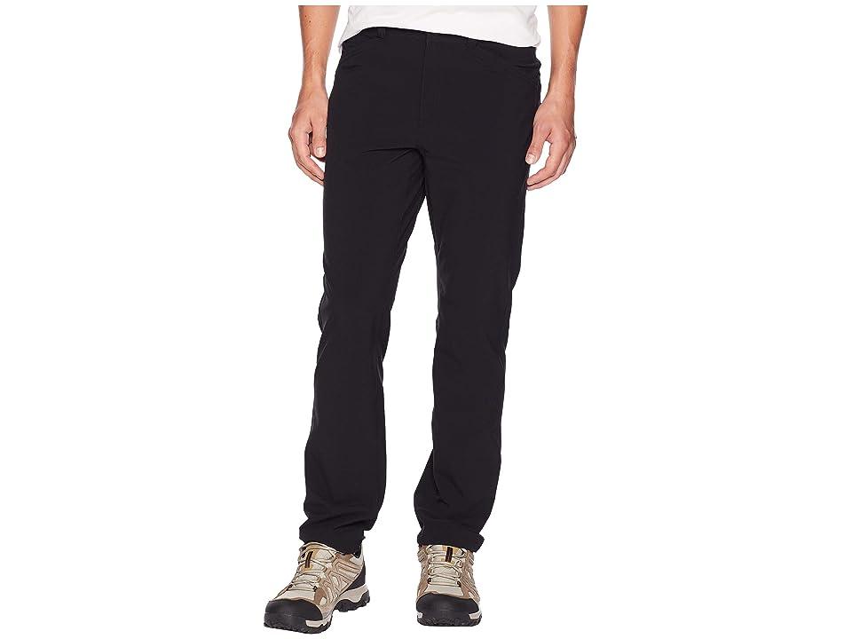 Royal Robbins Radius Pants (Jet Black) Men