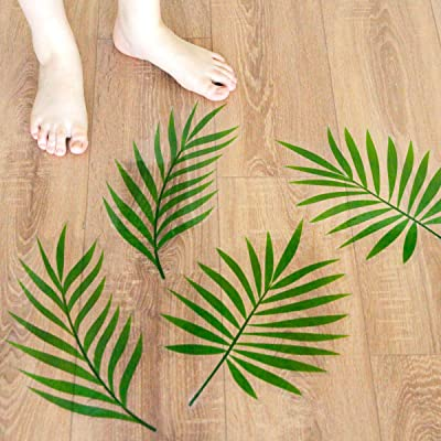 Palm Leave Floor Decals Stickers for Back to Sc...