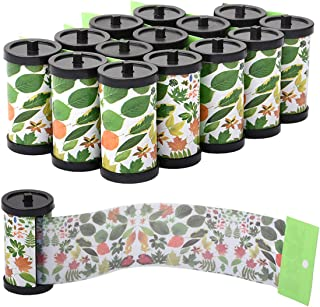 Gingbau Upgraded Sticky Fly Paper Fly Catcher Fly Ribbon Fly Trap for Indoor and Outdoor Flying Insect Control, 15-Pack