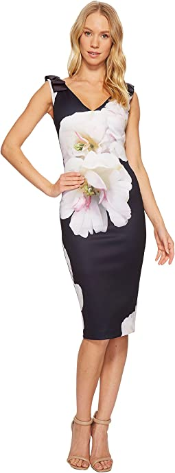 Ted Baker - Soleia Gardenia Bow Shoulder Bodycon