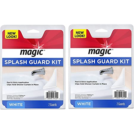 Prevent Water from Splashing out of the Bath or Shower Magic Splash Guard Kit