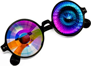 Portal, Worm Hole, Kaleidoscope Glasses for Music Festival or Rave