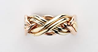 Ladies 6 Band Puzzle Ring Style 6B