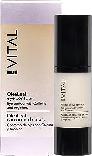 KPS VITAL 【PREMIUM】 OLEALAF | Crema Contorno de Ojos Antiarrugas Mujer | Anti Ojeras | Anti Arrugas | Corrector Bolsas Ojo...