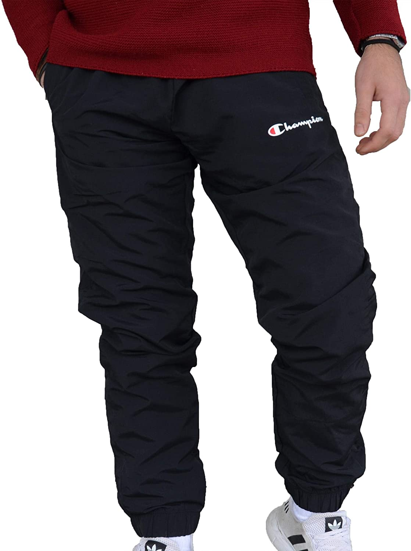Champion Pantalones Negros para Hombre 213643KK003