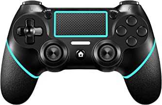PS4 Controller【Upgraded Version】 ORDA Wireless Gamepad for Playstation 4/Pro/Slim/PC(7/8/8.1/10) with Motion Motors and Au...