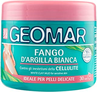 Geomar White Clay Anti-Cellulite Mud for Delicate Skin, 500 ml