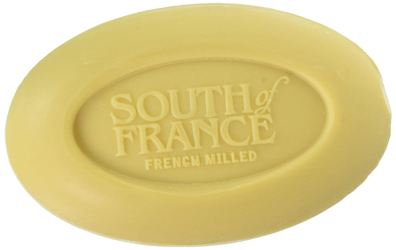 円周風邪をひく一致South of France - フランスの製粉された野菜棒石鹸レモンVerbena - 6ポンド