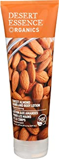 DESERT ESSENCE Almond Hand And Body Lotion, 8 FZ