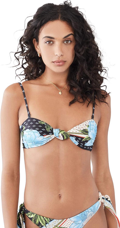 AGUA BENDITA Women's Lucille Voila Bikini Top