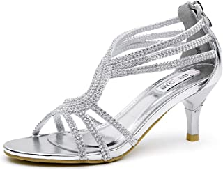 silver sparkly dance shoes