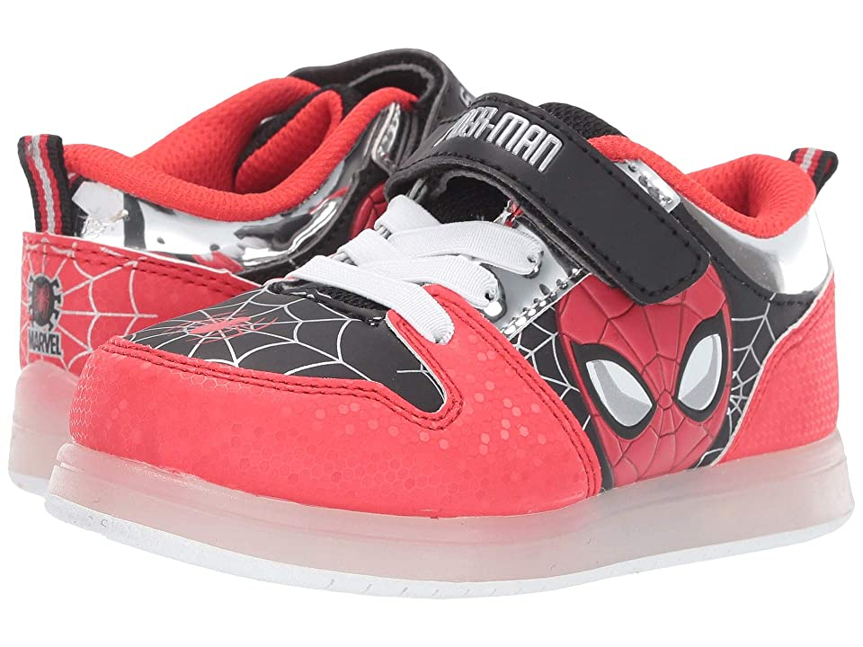 Favorite Characters Spider-Mantm Motion Lighted SPS382 (Toddler/Little Kid) (Red) Boys Shoes