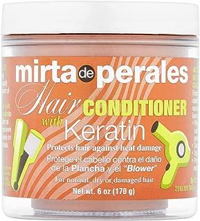 Mirta de Perale Hair Conditioner With Keratin 6 oz