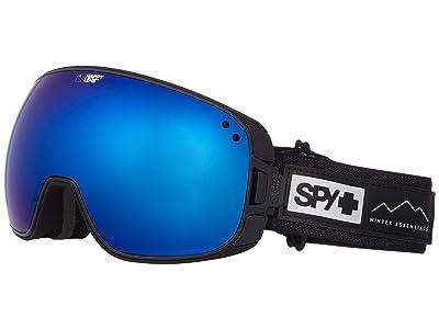 Spy Optic Bravo (Essential Black/Happy Rose/Dark Blue Sepctra/Happy Light Gray Gr) Snow Goggles
