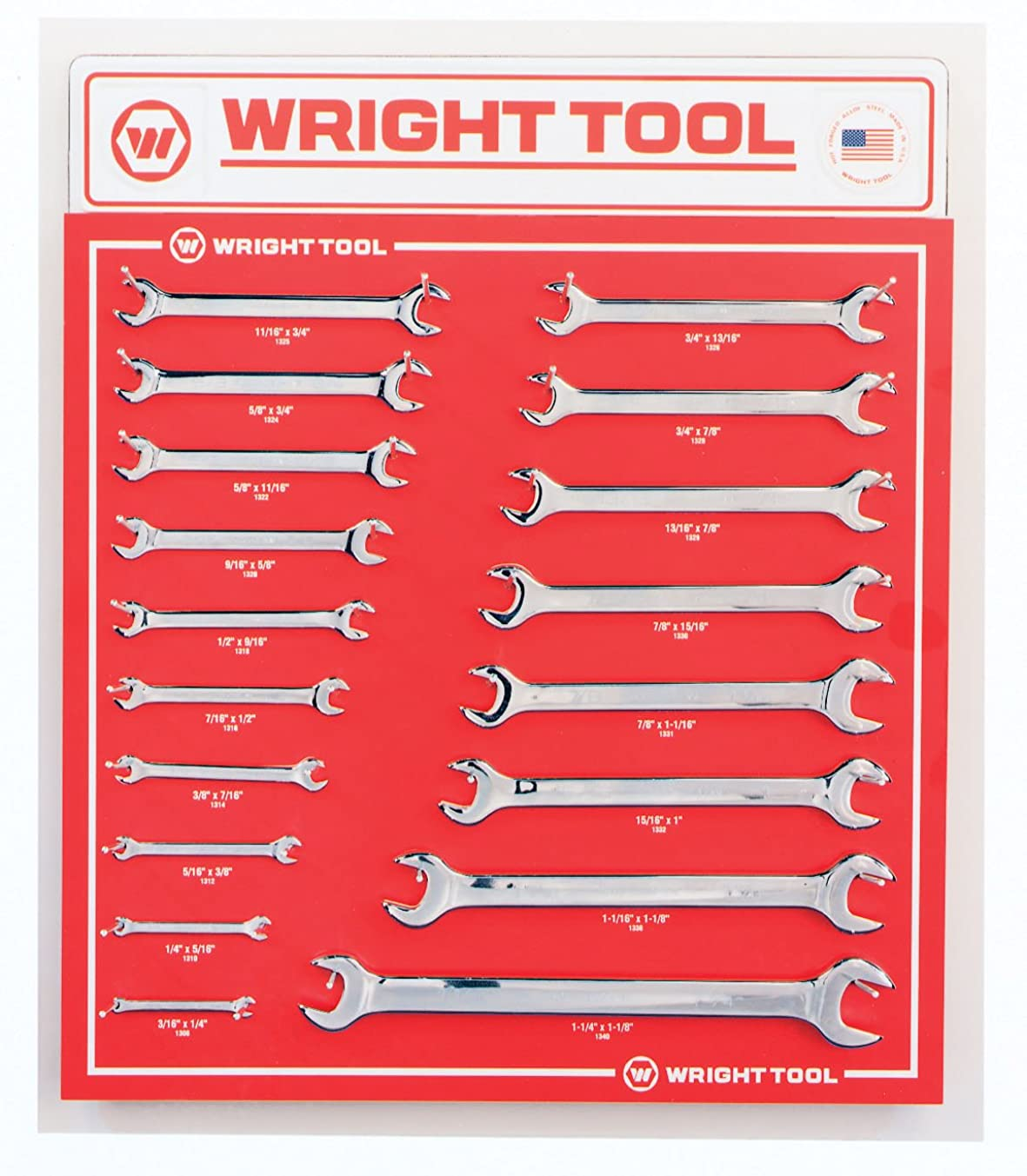 Wright Tool D987B Open End Wrenches