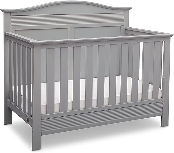 Serta Barrett 4 In 1 Convertible Baby Crib Grey