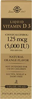 Solgar-Natural Liquid Vitamin D3 2500 IU 59 ml