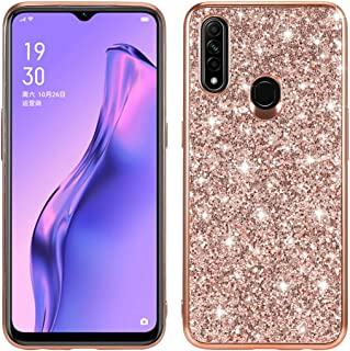 Allcecase For for oppo A8 / A31 Glitter Powder Shockproof TPU Protective Case